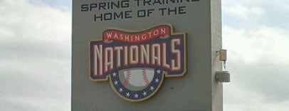 Washington National Training Complex is one of Stadiums Visited.