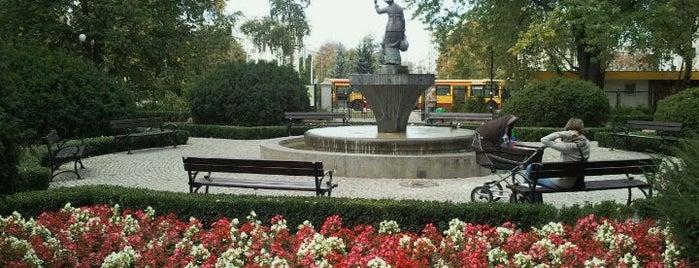 Park Żeromskiego is one of สถานที่ที่บันทึกไว้ของ Jasmine.