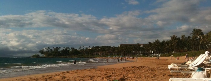 Wailea Beach is one of Maui, HI.
