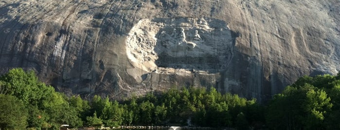 Stone Mountain Park is one of The Atlanta I Know and Love, By an Atlanta Native.