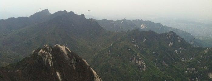 Baegundae Peak is one of South Korea.