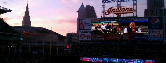 Progressive Field is one of Local Favorites in Cleveland, OH #VisitUS.