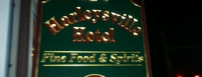Harleysville Hotel is one of Orte, die Brett gefallen.