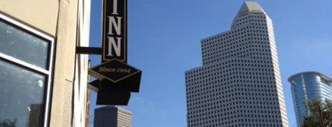 BlackFinn American Grille is one of Houston Dog-Friendly Patios.