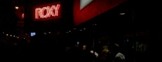 The Roxy is one of My FAV Hot Spots.