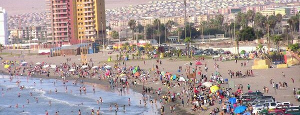 Beaches in Arica