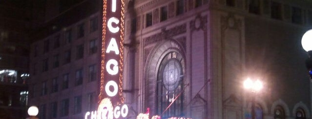 The Chicago Theatre is one of Downtown Chicago Theatres.