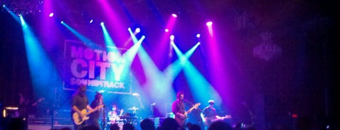 The Fillmore is one of SF Metromix's Top 25 Live Music Venues.