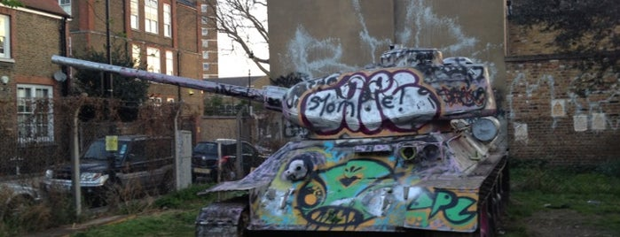 The Russian T-34 Tank is one of Tired of London, Tired of Life (Jan-Jun).