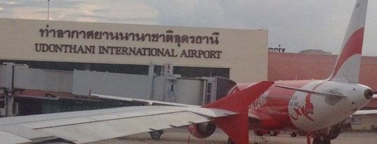 ท่าอากาศยานนานาชาติอุดรธานี (UTH) is one of AIRPORT.
