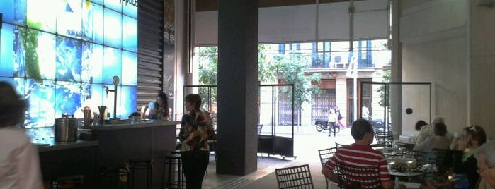 El Café del Gallery is one of Mejores Terrazas en Barcelona.