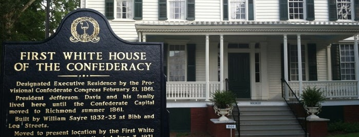 First White House of the Confederacy is one of #61-80 Places for Road Trip in HITM.