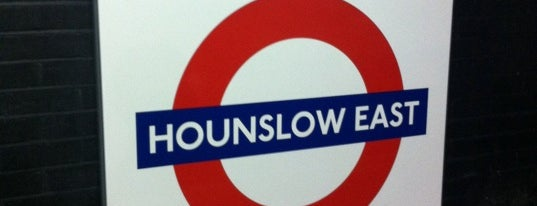 Hounslow East London Underground Station is one of Underground Stations in London.