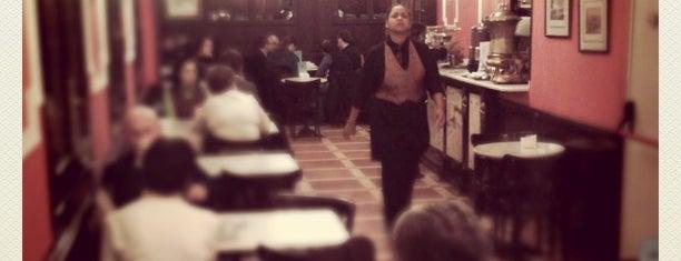 Pastelería El Riojano is one of 30 cafés con encanto en Madrid.