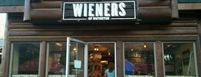 Wieners Of Waterton is one of Tempat yang Disukai Kevin.