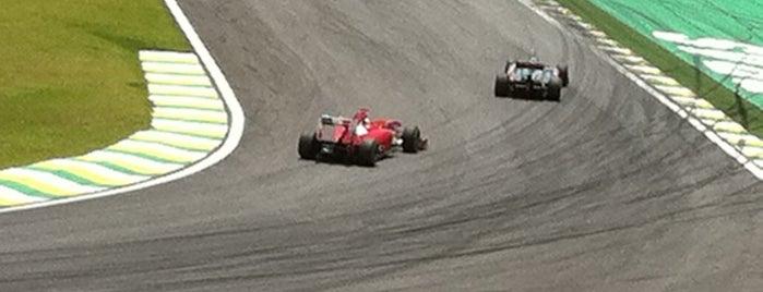Autódromo José Carlos Pace (Interlagos) is one of 2012 Formula 1™ racing circuits essentials.