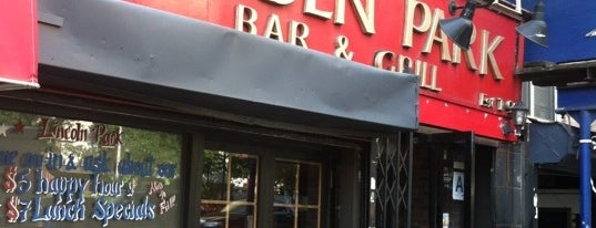 Lincoln Park Grill is one of NYC Bars and Restaurants.