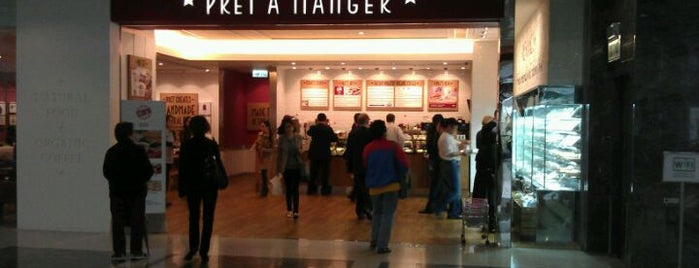 Pret A Manger is one of Hong Kong Places.