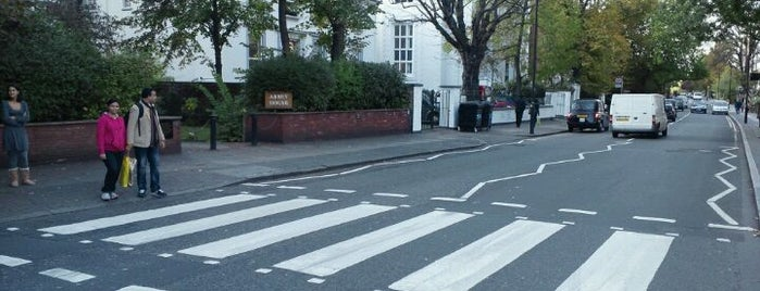 Abbey Road Studios is one of London as a local.