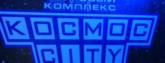 Космос-Сити is one of Lugares favoritos de Дмитрий.