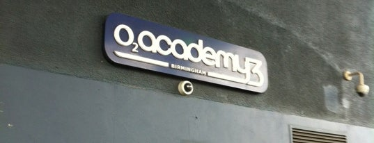 O2 Academy Birmingham is one of Venues.