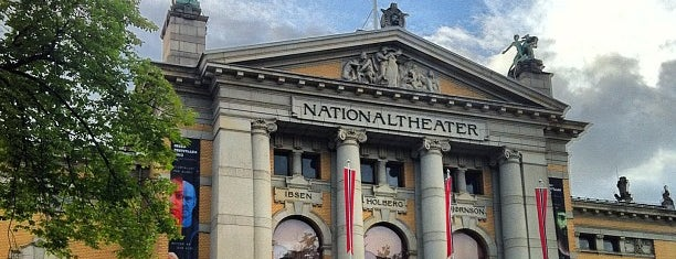 Nationaltheatret is one of Come Back Later.