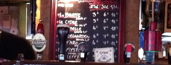 La Belette qui Tète is one of Bars a tester.