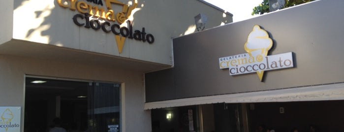 Gelateria Crema & Cioccolato is one of Adriane 님이 좋아한 장소.