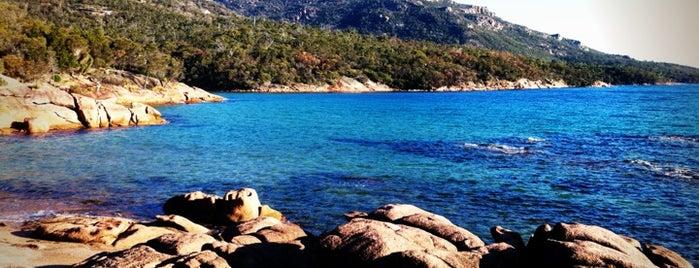 Honeymoon Bay is one of Tasmania.