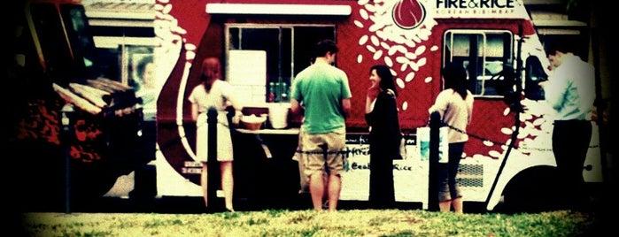Fire & Rice is one of Washington DC Food Trucks.