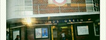 Bounds Green London Underground Station is one of Underground Stations in London.