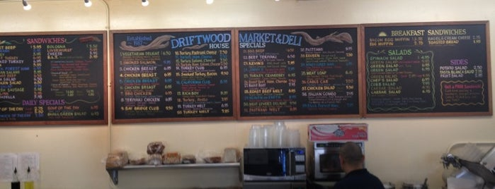 Driftwood Deli & Market is one of Bay Area.