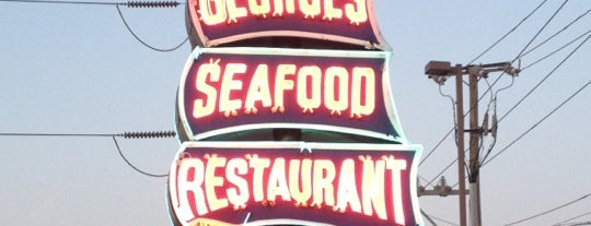 Captain Georges Seafood Restaurant is one of Local Redskins Rally Bars.
