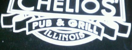 Chelios' Pub & Grill is one of Official Blackhawks Bars.