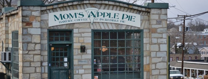 Mom's Apple Pie Company is one of Dulles airport.
