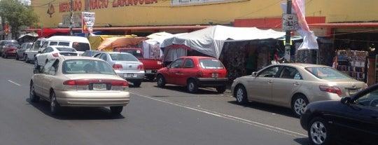 Mercado Ignacio Zaragoza is one of mercados df.