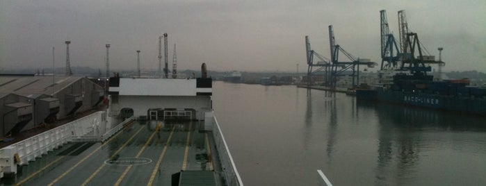 Port of Tilbury is one of UK Film Locations.
