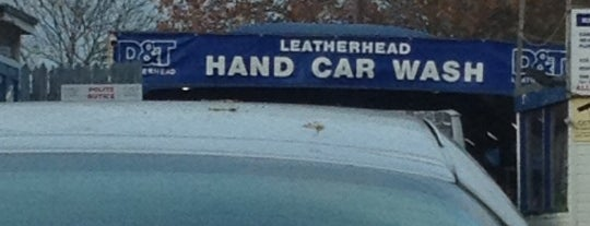 D&T Leatherhead Hand Car Wash is one of Tempat yang Disukai Eric.