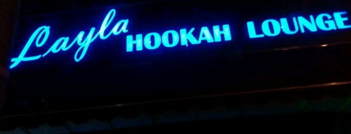 Layla Hookah Lounge is one of Locais curtidos por Emeltri G..