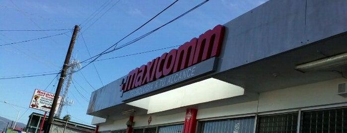 Maxicomm Computadoras is one of Descuentos con IDENTIDAD-UABC.