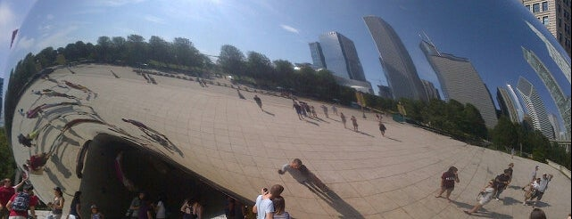 Millennium Park is one of Favorite Places Around the World.