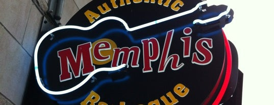 Memphis Barbeque is one of D.C. City Guide.
