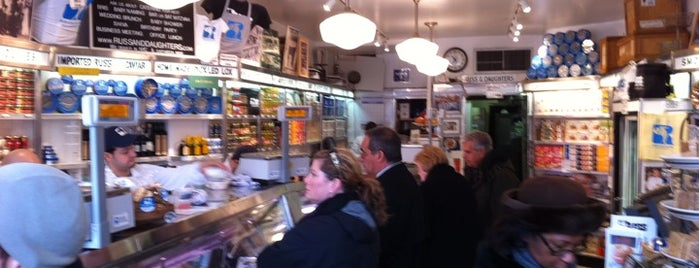 Russ & Daughters is one of NY food and drink.