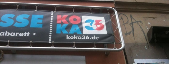 Koka 36 Konzertkasse is one of Berlin And More.