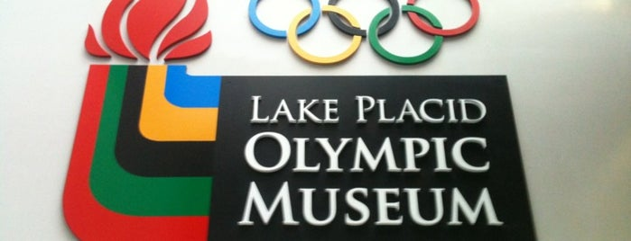 Lake Placid Olympic Center is one of Sports Venues.