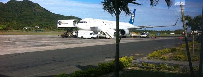 Rarotonga International Airport (RAR) is one of Airports (around the world).