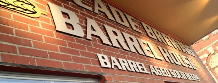 Cascade Brewing Barrel House is one of Visiting Portland.