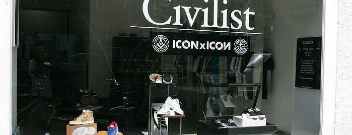 Civilist Berlin is one of Berlin Sneakers And Streetwear.