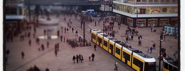 Alexanderplatz is one of Berlin.