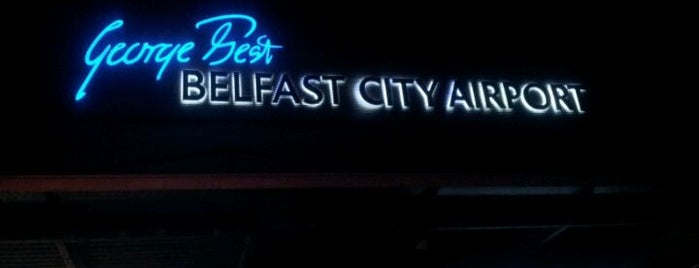 George Best Belfast City Airport (BHD) is one of Airports - Europe.
